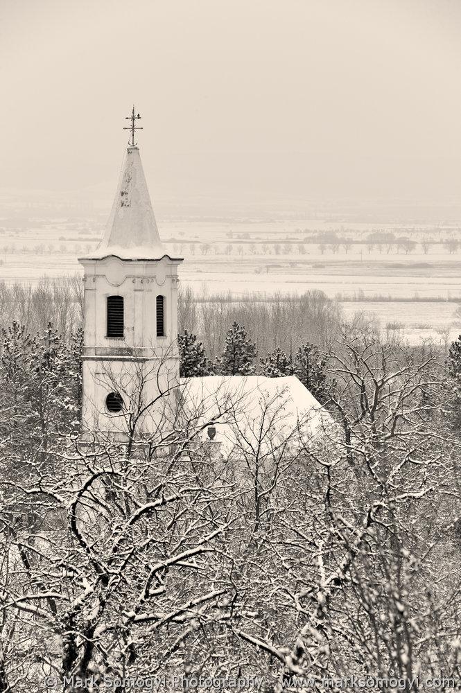 Szent Máté-templom télen