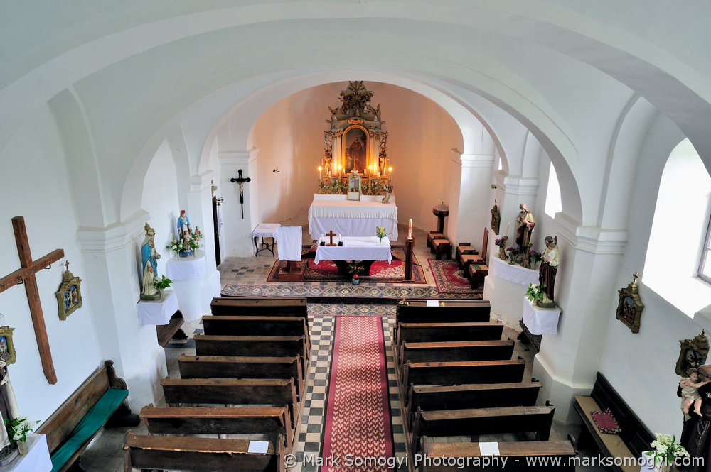 Szent Máté-templom karzatáról. Fotó: Somogyi Márk - www.somogyimark.hu